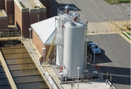 Sodium Hydroxide Storage Tanks