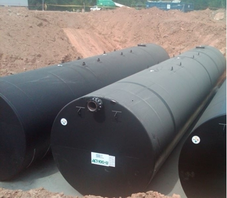 Double Wall ACT100U Petroleum Tanks