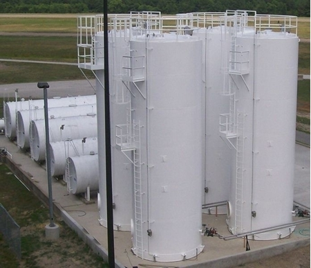 Vertical Single Wall UL 142 Petroleum Tanks